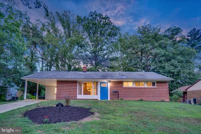 Fairfax County Single Family Home For Sale: 7433 Bath Street