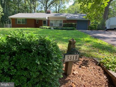 Annandale Single Family Home For Sale: 3815 Millcreek Drive