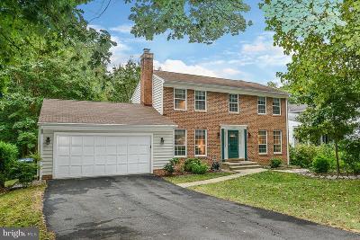 Fairfax County Single Family Home For Sale: 7607 Maritime Lane
