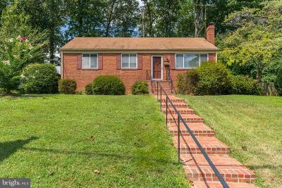 Fairfax County Single Family Home For Sale: 3708 Ridge Road