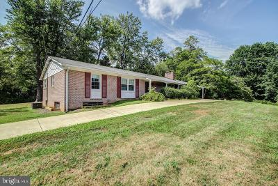 Alexandria Single Family Home For Sale: 6596 Braddock Road