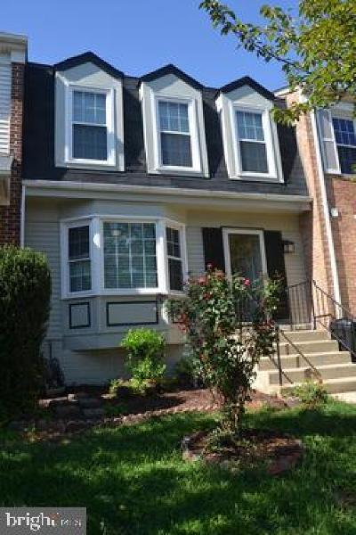 Fairfax Townhouse For Sale: 13316 Foxhole Drive