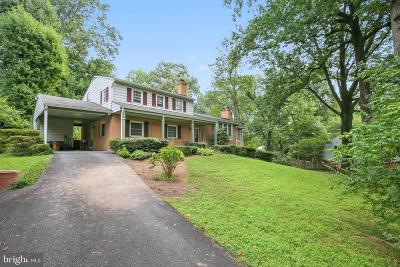 Fairfax Single Family Home For Sale: 10028 Glenmere Road
