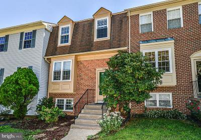 Springfield, Burke Townhouse For Sale: 7748 Asterella Court