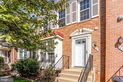 Fairfax Townhouse For Sale: 13314 Foxhole Drive