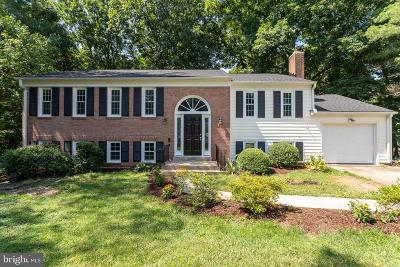 Burke, Springfield Single Family Home For Sale: 8110 Overton Court