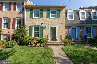 Springfield Townhouse For Sale: 7030 Leebrad Street