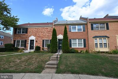 Springfield Townhouse For Sale: 6003 Stoneygate Court