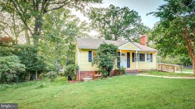 Fairfax Single Family Home For Sale: 4600 Village Drive