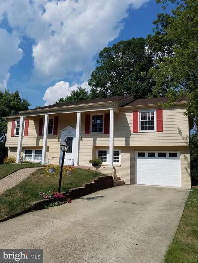 Fairfax VA Single Family Home For Sale: $535,000