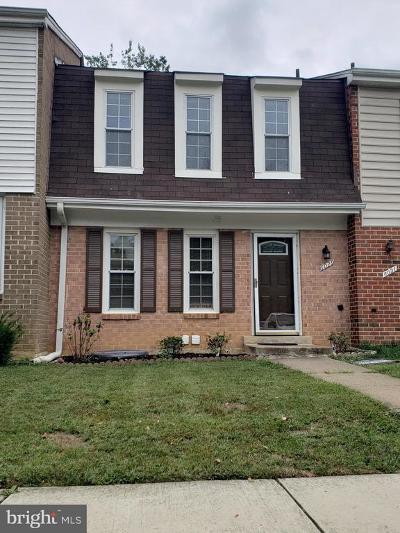 Fairfax County Townhouse For Sale: 6029 Bonnie Bern Court