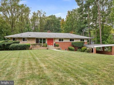 Falls Church Single Family Home For Sale: 6011 Lebanon Drive