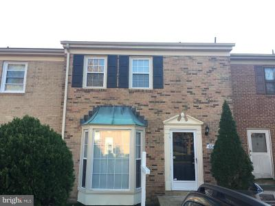 Annandale, Falls Church Townhouse For Sale: 4560 Airlie Way