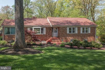 Fairfax, Fairfax Station Single Family Home For Sale: 2808 Maple Lane