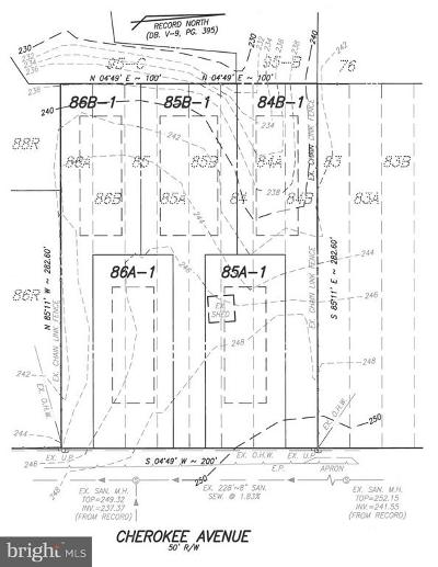 Alexandria Residential Lots & Land For Sale: 4870 Cherokee Avenue