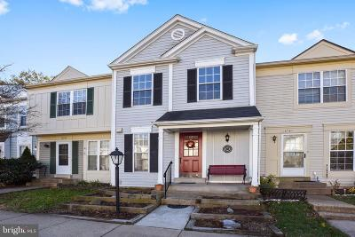 Centreville Townhouse For Sale: 14759 Green Park Way