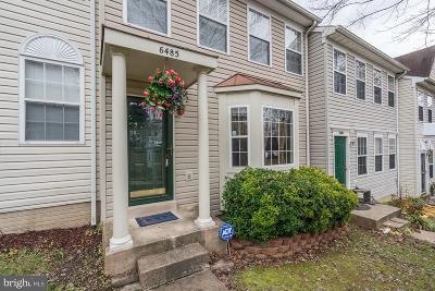 Centreville Townhouse For Sale: 6485 McCoy Road