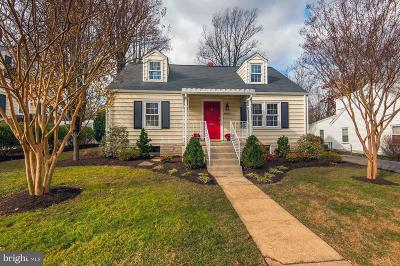 Fairfax Single Family Home For Sale: 4028 Maple Street