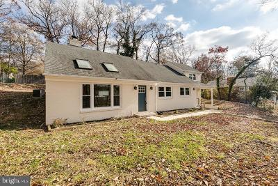 Alexandria Single Family Home For Sale: 7111 Fort Hunt Road