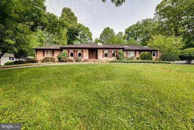 Fairfax Station Rental For Rent: 10936 Woodfair Road