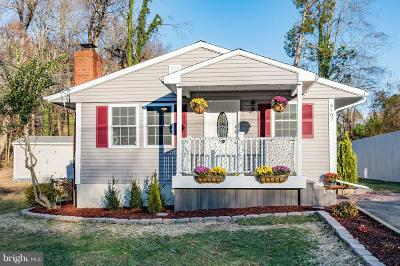 Alexandria Single Family Home Under Contract: 8407 Woodlawn Street