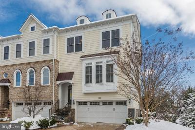 Reston, Herndon Townhouse For Sale: 510 Hollingsworth Terrace
