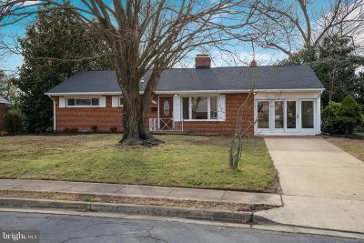 Alexandria Single Family Home Under Contract: 3614 Dannys Lane