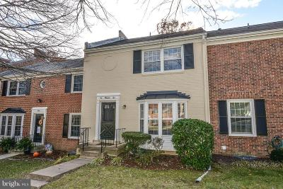 Springfield, Burke Townhouse For Sale: 6002 Stoneygate Court