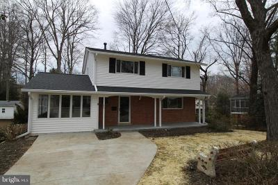 Springfield Single Family Home For Sale: 5406 Weymouth Drive