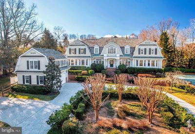 McLean VA Single Family Home For Sale: $5,200,000