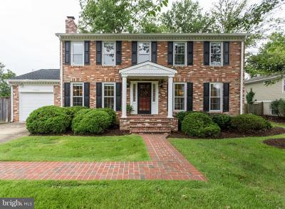 Alexandria Single Family Home For Sale: 7524 Milway Drive