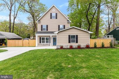 Fairfax County Single Family Home For Sale: 7016 Oak Ridge Road