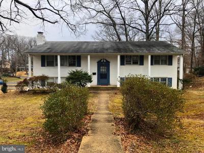 Fairfax Single Family Home For Sale: 9117 Ashmeade Drive