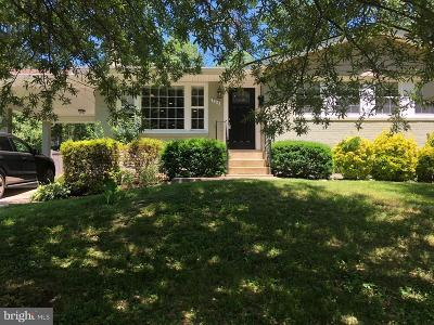 Fairfax County Single Family Home For Sale: 906 Myers Circle SW