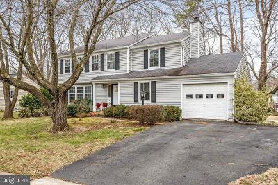 Herndon Single Family Home Under Contract: 2664 Petersborough Street