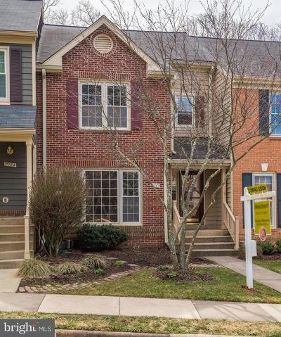 Reston Townhouse For Sale: 11782 Great Owl Circle