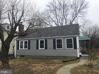 Falls Church Single Family Home Active Under Contract: 7003 Arlington Boulevard