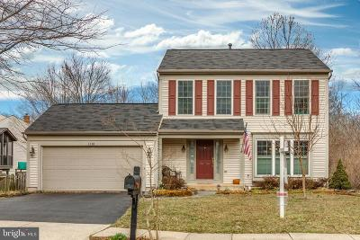 Herndon Single Family Home Active Under Contract: 1318 Cassia Street