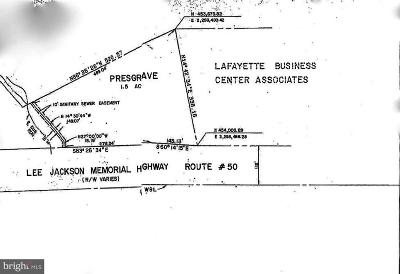 Chantilly Residential Lots & Land For Sale: 15011 Lee Jackson Memorial Highway