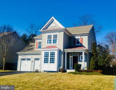 Herndon Single Family Home For Sale: 404 Madison Manor Court