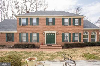 Fairfax Single Family Home For Sale: 8623 Cherry Drive