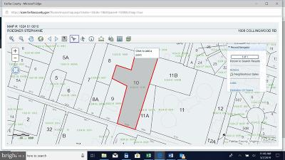 Alexandria Residential Lots & Land For Sale: 1608 Collingwood Road