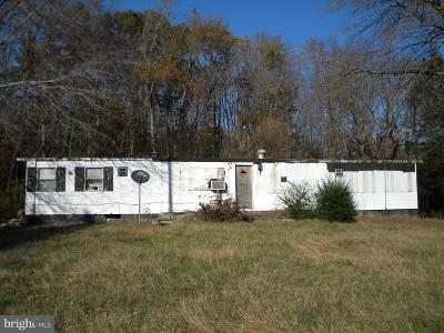 King George VA Single Family Home For Sale: $45,000