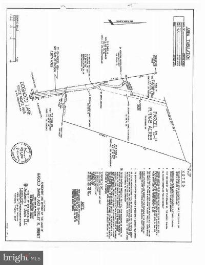 King George Residential Lots & Land For Sale: 0 Dogwood Lane