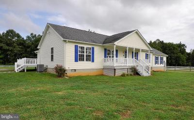 King George County Single Family Home For Sale: 14005 Port Conway Road