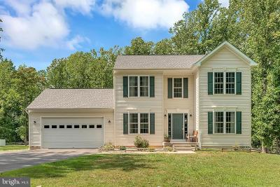 King George County Single Family Home For Sale: 13403 Round Hill Road