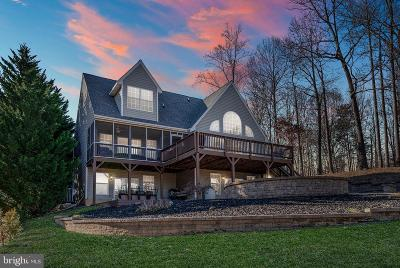 Bumpass Single Family Home For Sale: 102 Busbees Point Road