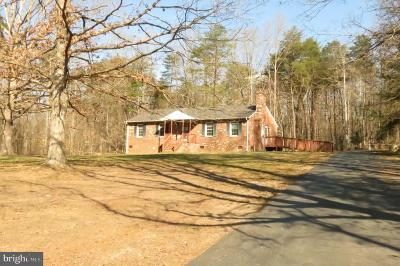 Louisa County Single Family Home For Sale: 2531 Waldrop Church Road