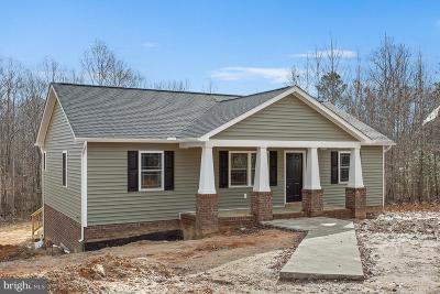 Louisa County Single Family Home For Sale: Lot 10 Fox Run Forest Lane