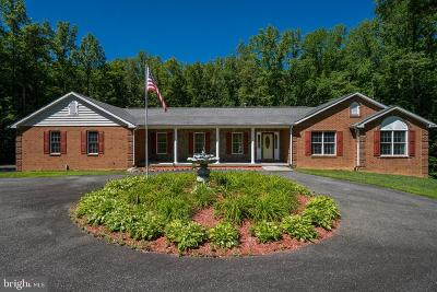 Louisa County Single Family Home For Sale: 9955 Kentucky Springs Road